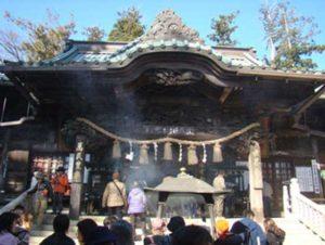 高尾山薬王院の本堂