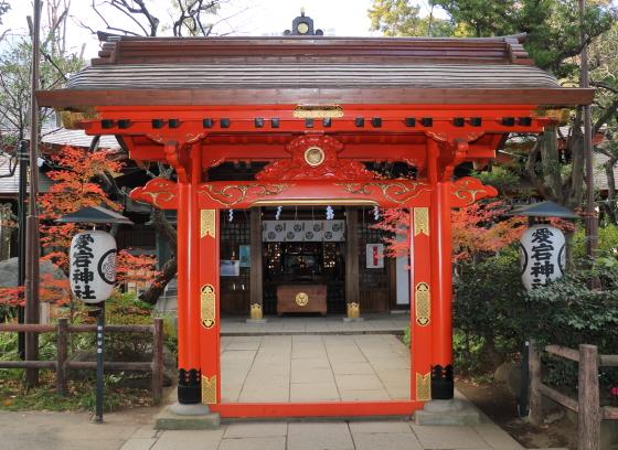 朱赤色の神門