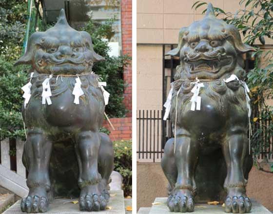 石像の獅子