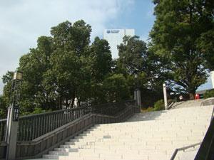 山王橋の階段
