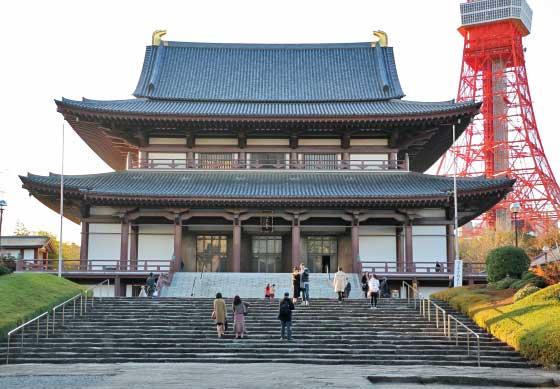 増上寺の拝殿