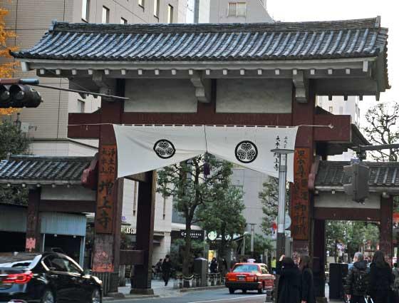 増上寺の表門 大門